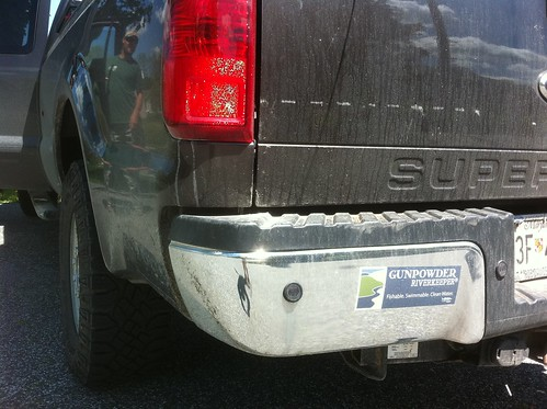 Gunpowder RIVERKEEPER Bumper Sticker
