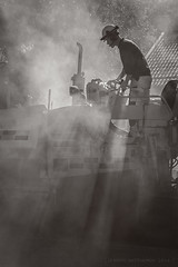 Ammattilainen (JP Korpi-Vartiainen) Tags: august finland kuopio pohjoissavo september asfaltti autumn bitumen bitumi coat construction elokuu employee hard kesä kevyenliikenteenväylä kevytliikenne pave päällystää road rtyö site summer syksy syyskuu tarmac tie tietyö työ työmaa työmies väylä work worker zone öljysora itäsuomenlääni