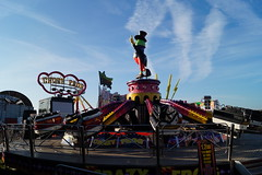 DSC02206 (A Parton Photography) Tags: fairground rides spinning longexposure miltonkeynes fireworks bonfire november cold