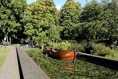 De Fute (FreerkZ) Tags: lock boat fute sluis borculo gelderland nederland zompendag zomp berkelland achterhoek water sluice berkel trees