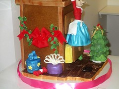 Gingerbread Creation for 2015 George Eastman House (tanyacakes) Tags: gingerbreadhouse gumpaste sugarpaste cakedecorating modelling christmas 2015 fondant