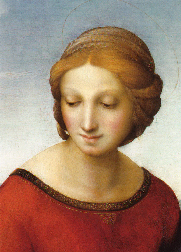 raphael s madonna meadows Madonna in the meadow (detail) by raphael, 1505-06 by hester on indulgycom.