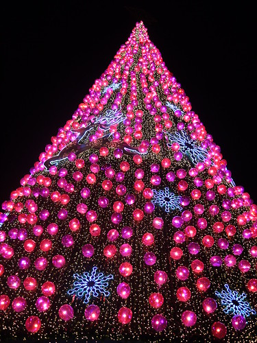 Christmas Tree at Vivo City