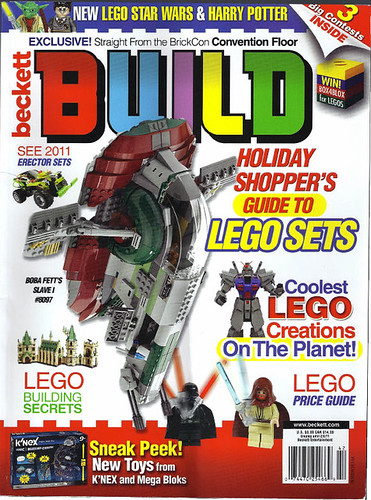 LEGO Beckett BUILD Magazine AFOL