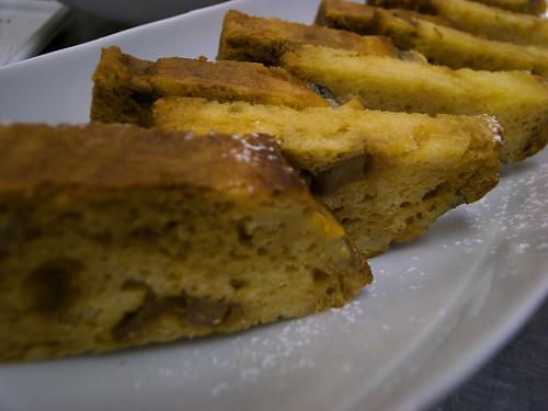 キャラメルバナナパウンドケーキ