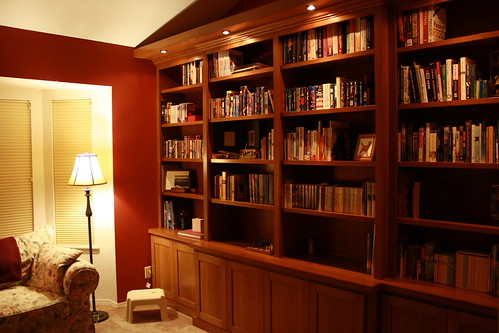 Bookshelves: Filled 1