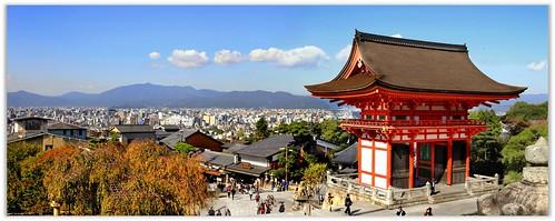 KYOTO : JAPAN : PANORAMA Kiyomizu-dera Temple, Kyoto 清水寺 by zoompict (pro account expire soon)