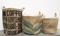 buckets in a row (mayalu) Tags: published feature mydesign giftguide foodnetworkmagazine burlapbuckets