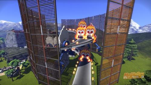 ModNation Racers PS3: Elite Theme Park