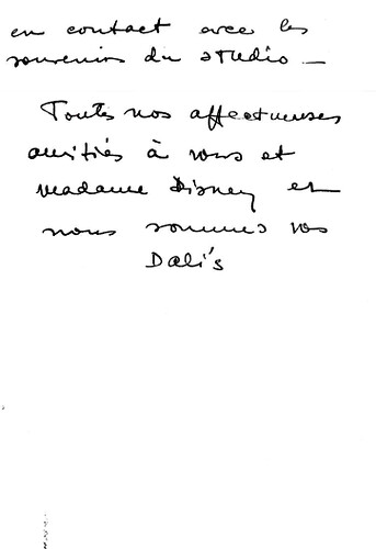 Walt Disney, Salvador Dali & 'Destino' (5c)