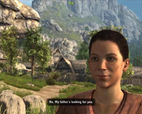 Arcania Ivy Conversation