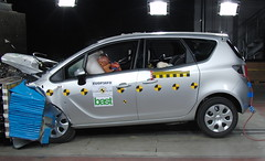 Meriva-Crashtest, Quelle: Euro NCAP