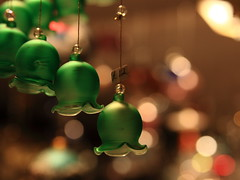With bells on (J.B.B. Photography) Tags: santa christmas xmas tree green bells edinburgh bell bokeh ornaments rudolph