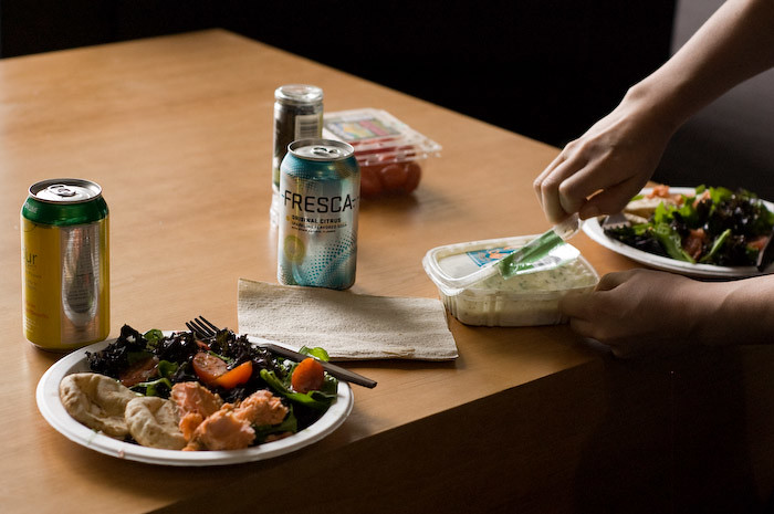 Lunch. Salad Club.