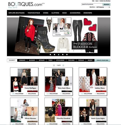 Google´s Boutiques.com