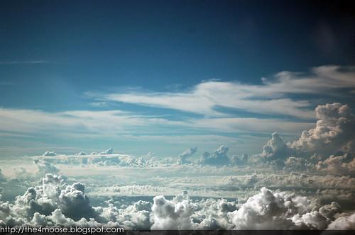 Skies above Chon Buri, Thailand