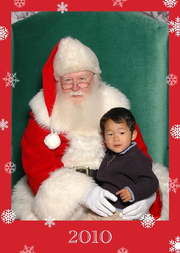 Spencer & Santa