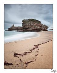 Frio Estaño (diegogm.es) Tags: sea españa seascape beach marina mar spain sand agua asturias playa olympus arena gijon zuiko hitech roca oceano algas piedra cantabrico estaño 1442 pedreo e520 ocle