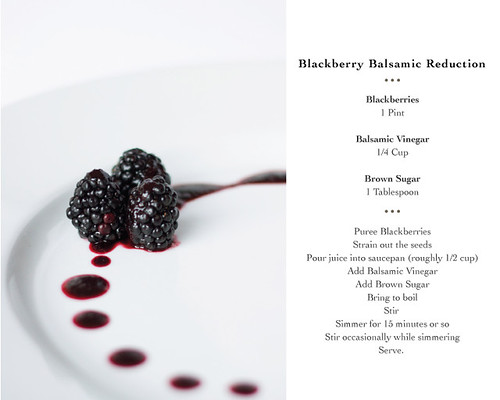 Blackberry Balsamic Reduction