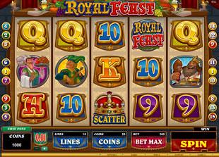 Royal Feast slot presents