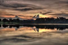 Sunset @ Lower Pierce Reservoir (f r e d 001) Tags: sunset nikon long exposure reservoir filter nd pierce lower nikkor d90 18105mm flickrswarmlighting