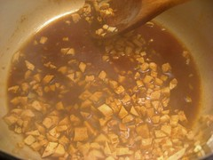 Making the tofu version