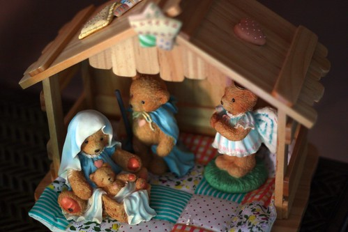 Christmas Cherished Teddies Nativity