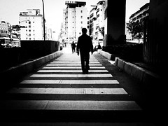 Lost in the right path (liver1223) Tags: china street city 2 people blackandwhite bw photo shot taiwan snap taipei greater gr ricoh grd blackwhitephotos grdigital2 artofimages bestcapturesaoi