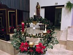 Paróquia S. José do Jaguaré - Decoração Natalina Interna (05/12/2010)