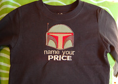 boba fet t-shirt (meringuedesigns) Tags: starwars tshirt embroidered bobafet