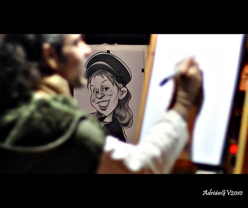 La caricatura by ADRIANGV2009