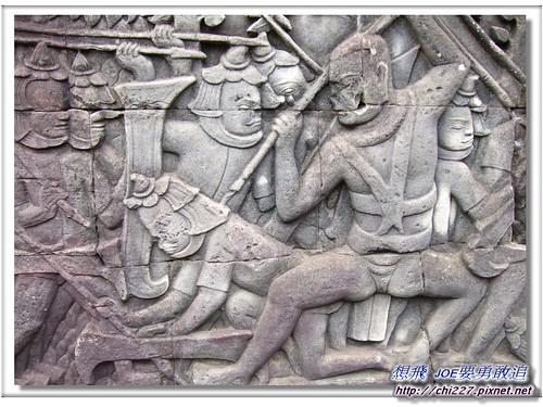 吳哥城-戰爭雕刻
