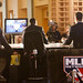 Behind the MLB Network set