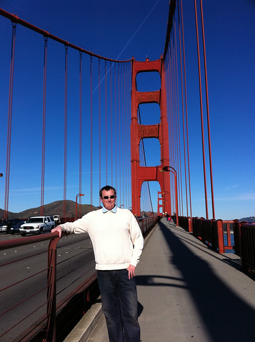 On the Golden Gate Bridge