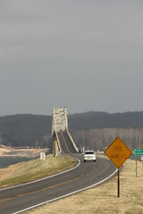 Eggner's Ferry Bridge over Kentucky Lake (Adam's Journey) Tags: kentucky lakes bridges favorites rivers 2010 tennesseeriver us68 kentuckylake landbetweenthelakes eggnersferrybridge canonxsi ky80