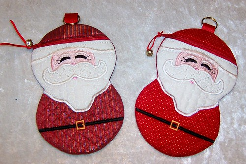 Santa Zipper Cases
