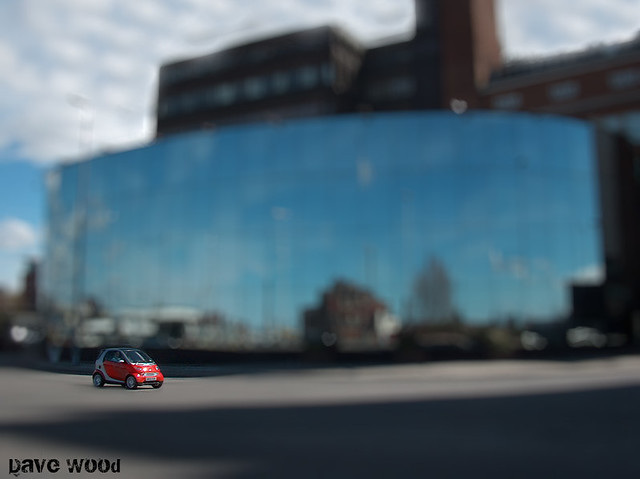 Toy Car (faux tilt shift)