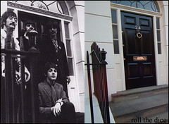 Chapel Street`Beatles-1967-2010 (roll the dice) Tags: uk gay windows music money london art history classic home westminster architecture liverpool dead death amazing photographer famous rich steps cancer icon flats legends 1967 beatles local celebs pills expensive manager johnlennon iconic fab4 ringo yokoono 1964 paulmccartney georgeharrison sw1 oldandnew macca dwellings pastandpresent londonist belgravia bygone brianepstein hereandnow lindamccartney