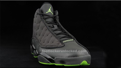 Jordan Retro 13 Altitude Green colorway