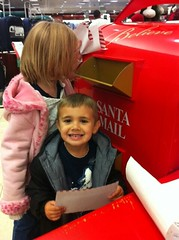 Noah with letter to Santa