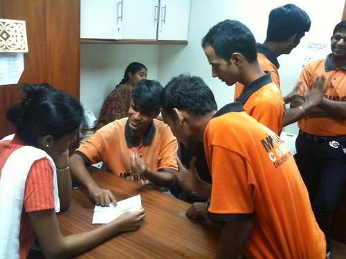 Vidya with Sundeep