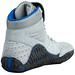 Asics Aggressor Grey and Royal Blue Wrestling Shoes 5