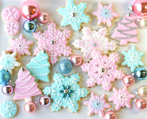 Vintage Pastel Cookie Collection