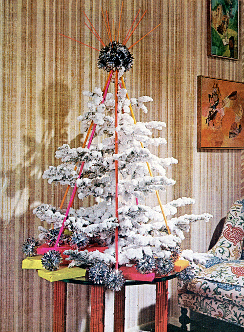 Mid-Century Living: Xmas Tree Decorating Ideas From 1969
