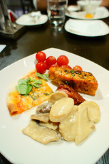 Main  (Yoshio Taka) Tags: dinner restaurant taiwan taipei buffet       xinyidistrict  latestrecipe   songrenrd  lemeridientaipei  itanlianfood