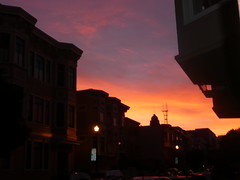 epic sunset (ramona wheelright) Tags: foundinsf
