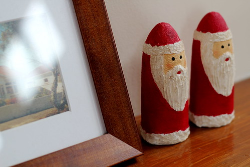 Sunday: I love these creepy santas