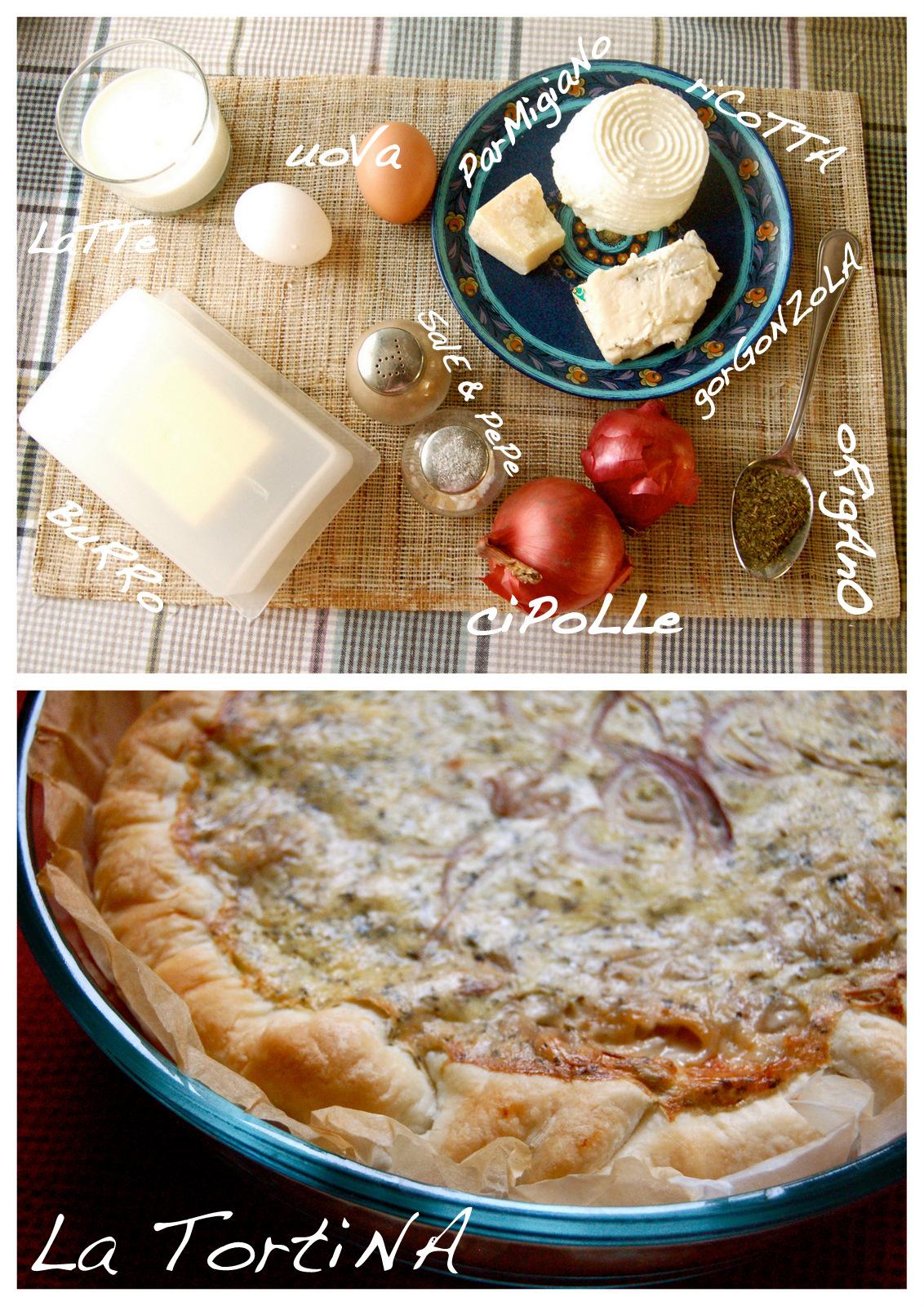 tortina gorgonzola+cipollotti