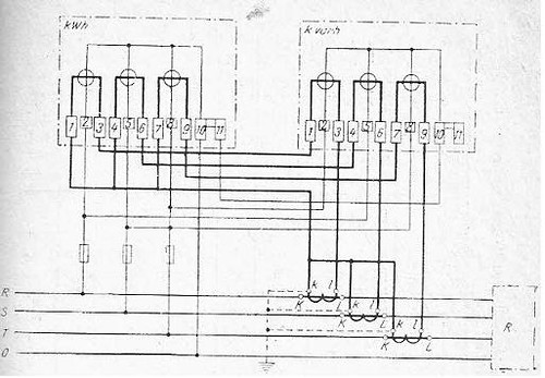 conectarea contoarelor 3f 3
