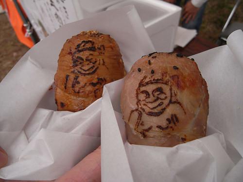 移動式カフェの美味しい肉巻き『あーすかふぇ』@明日香村